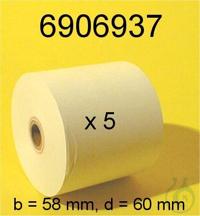 Printer paper, YDP02/03/04, 57mmX40m,5ea Printer paper, YDP02/03/04,...