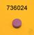 Color Button Violet Picus Color Button Violet Picus