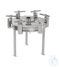Edelstahlfiltrationsgerät 293mm, TC In-line Edelstahldruckfiltrationsgerät
