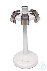 Carousel Stand for 6 mechanical pipettes Wenn die Pipette nicht in Gebrauch...