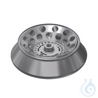 Winkelrotor 24x2ml für A-14 aus Al Festwinkelrotor 24 x 1,5|2,0 ml