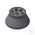 Winkelrotor 6x50ml für G-16 aus Al Festwinkelrotor 6 x 50 ml