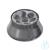 Winkelrotor 6x85ml für G-16 aus Al Festwinkelrotor 6 x 85 ml