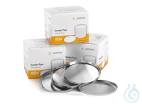 Einwegschale (80 Stück pro Pack) Einweg-Probenschalen, 80 Stück, Aluminium,...