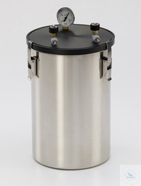 "Anaerobic jar ""large"", with manometer/valves, 6 liters Anaerobic jar ""large"",..."