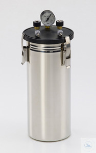 "Anaerobic jar ""standard"", with manometer/valves, 3 liters Anaerobic jar..."