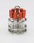 """Reagenzglas-Einsatzgestellfür 9 Reagenzgläser """"test tubes""""..."""