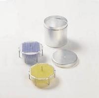 Pipettenspitzen-Einsatzgestell g für 208 gelbe Pipettenspitzen    *** Nach Abverkauf nicht mehr...
