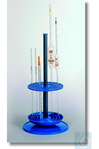 Pipette Stand for 94 pipettes, PP, blue, sterilizeable, dismountable,...