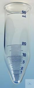 Zentrifugenglas/ADMI 50 ml, 34 mm Ø, 100 mm Gesamtlänge konisch, 50 ml, blau...