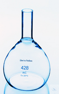 Überlaufmesskolben 21,7 ml