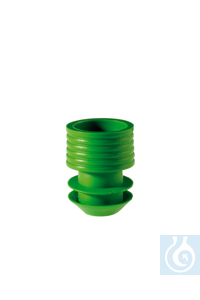 Stopper, 11-12 mm, green Stopper, 11-12 mm, green