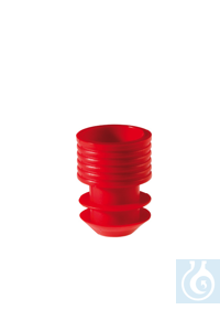 Stopper,11-12 mm, red Stopper,11-12 mm, red