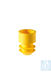 Stopper, 11-12 mm, yellow Stopper, 11-12 mm, yellow