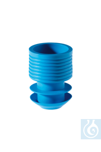 Stoppers, 16-17 mm, blue Stoppers, 16-17 mm, blue