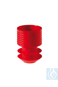 Stoppers, 16-17 mm, red Stoppers, 16-17 mm, red