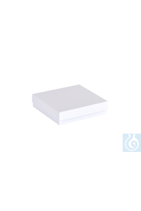 ratiolab® Cryo-Boxes, cardboard,  standard, white, 133 x 133 x 32 mm...