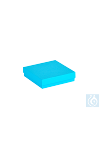 ratiolab® Cryo-Boxes, cardboard,  standard, blue, 133 x 133 x 32 mm ratiolab®...
