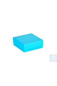 ratiolab® Cryo-Boxes, cardboard,  standard, blue, 133 x 133 x 50 mm ratiolab®...
