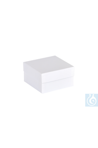 ratiolab® Cryo-Boxes, cardboard,  standard, white, 133 x 133 x 75 mm...