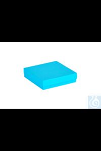 ratiolab® Kryo-Boxen, Karton, standard,  standard, blue, 136 x 136 x 32 mm...