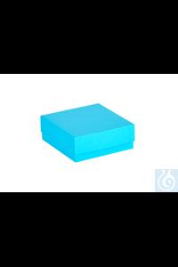 ratiolab® Cryo-Boxes, cardboard,  blau, 136 x 136 x 50 mm ratiolab®...