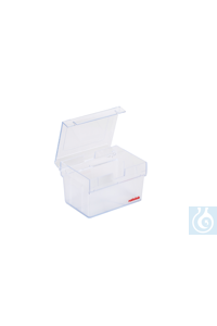 ratiolab® Multibox®plus, PC, empty,  for pipet tips up to 1200 µl