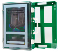 Mobile Wall-Cabinet for Masks • with wall mounting  • can be removed for transport  • shock and...