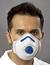 Geruchschutzmaske Mandil FFP2/Combi/V • mit Cool Down Ausatemventil • mit...