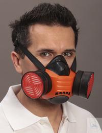 Halbmaske Polimask BETA • Doppelfilterhalbmaske aus EPDM bietet den optimalen...