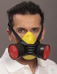 Halbmaske Polimask BETA/Silikone • Doppelfilterhalbmaske aus besonders...
