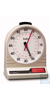 Analog-Tischstoppuhr, quarzgesteuert Messber. 0 - 60 min, 175 x 130 x 95 mm Analog-Tischstoppuhr,...