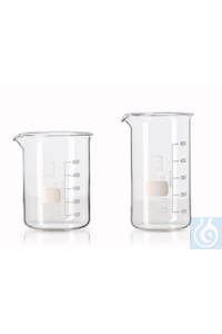 Becherglas, niedrige Form, DURAN® mit Teilung und Ausguss, 2000 ml