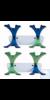 Wandhalter für Mikroliterpipetten aus ABS Wandhalter für Mikroliterpipetten aus ABS Aus ABS. Für...