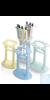 Tisch-Pipettenständer, mintgrün Polyamid, für 7 Mikroliterpipetten Tisch-Pipettenständer,...
