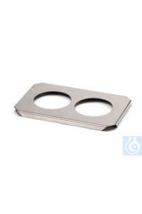 Stainless steel cover for 2 beackers for Stainless steel cover for 2 beackers...