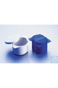 Plastic cleaning cup with cover Plastic cleaning cup with cover white, ø 70...