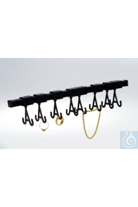 Jewellery rack Jewellery rach with 10 adjustable hooksL = 33 mm, H = 62 mm