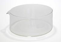Glasschale für Restschmutzanalyse Glasschale für Restschmutzanalyse Ø190, h=90