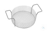 Basket Elmasonic S 50 R Basket S 50 R stainless steel, Ø220x70 mm