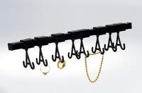 Schmuckhalter flexibel Schmuckhalter flexibel mit 10 einstellbaren HakenL =...