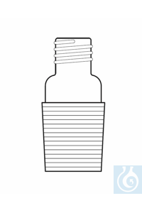 Adapter cone NS 24/29, thread GL18
