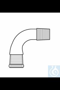 Bend cone + socket ST 14, angled 90°, Duran borosilicate glass 3.3