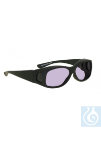 Fit over frame with didymium lenses, black. Very comfortable, fits over most frames. (lenses in...