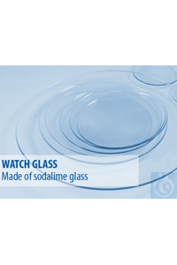 Watch glass dia 90 soda lime glass