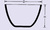 Creuset en quartz transparent, forme basse 5 ml, diamètre 29 x hauteur 19