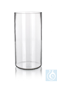 Specimen jar, dim. Ø 140 x H 325, with ground rim, Simax® borosilicate glass, type: 2500