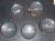 Presse-papier uit helder kristal glas, halve bol diameter 90 mm. Op aanvraag...