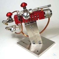 Bench burner for glassblower gas-oxygen