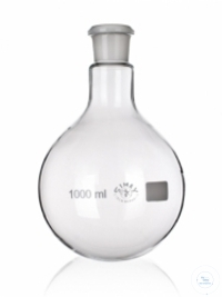 Round bottom flask 25 ml with NS 14/23 borosilicate glass 3.3